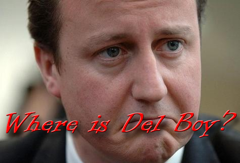 David Cameron and Daves Diner