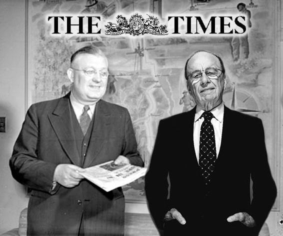 Rupert Murdoch Times 1981