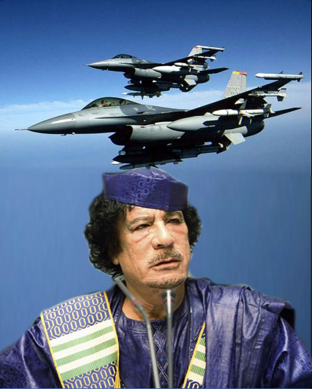 questioning how the war in the Gaddafi west was won