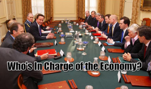 who is in charge when it comes to the British economy?