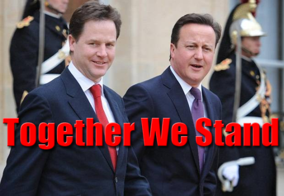 Nick and Dave Renew Coalition Vows