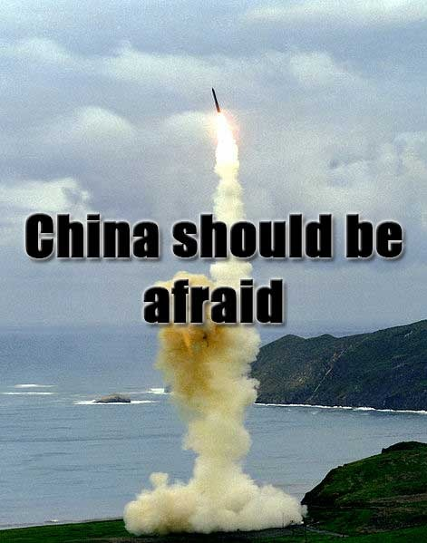 Should China be Afraid