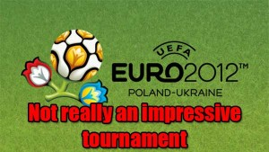Euro2012 Is Boring. Overpaid Players Are Just Not Bothered To Make An Effort