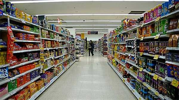 Browsing At Supermarkets. A New Phenomenon In Austerity Britain