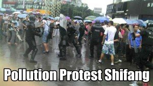 Pollution Protests in Shifang
