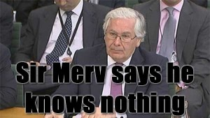 Bank of England, Mervyn King, Treasury Select Committee