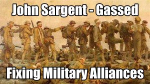 Blind Art And Democracy in Syria Gassed Massacre with John Singer Sargent