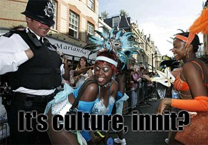 It's Coming, Innit, The Notting Hill Carnival