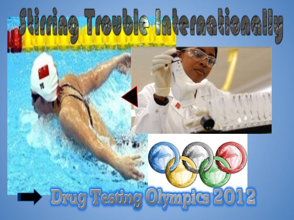 Drugs In The Fast Olympic Lane - You Ain't Seen Nothing Yet.