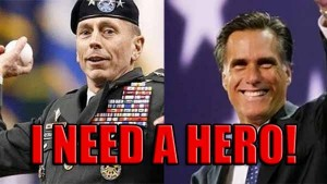 DAVID PATRAEUS, FOREIGN POLICY, MITT ROMNEY, POLITICS