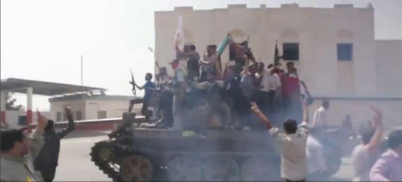 Syrian Tanks Civil War or War?