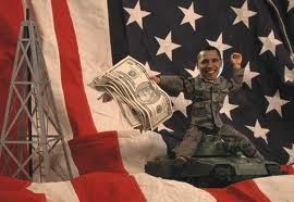 Obamaland money flag