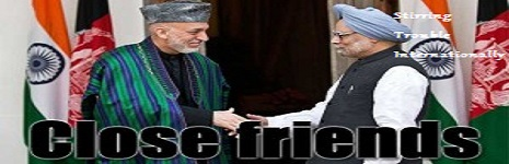 Hamid Karzai and Nawaz Sharif close friends