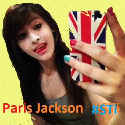 Paris Jackson on a UK mobile