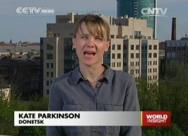 Kate Parkinson in Donetsk Ukraine
