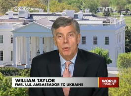 William Taylor US Ambassador to Ukraine.
