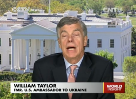 Mr U.S. Ambassador to Ukraine.